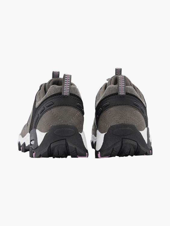 Grijze wandelschoen met elastiek