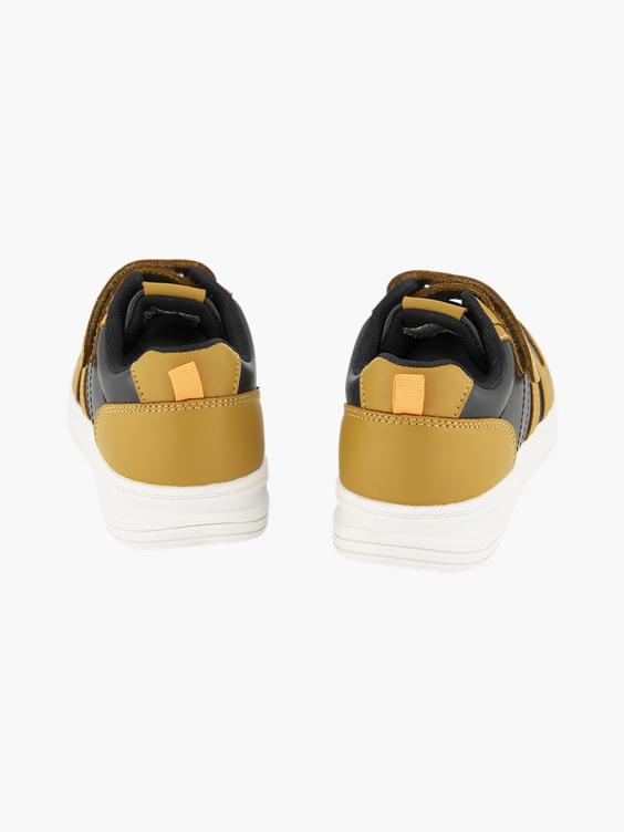 Bruin zwarte sneaker