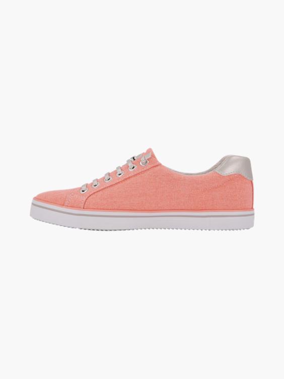 Roze sneaker slip on
