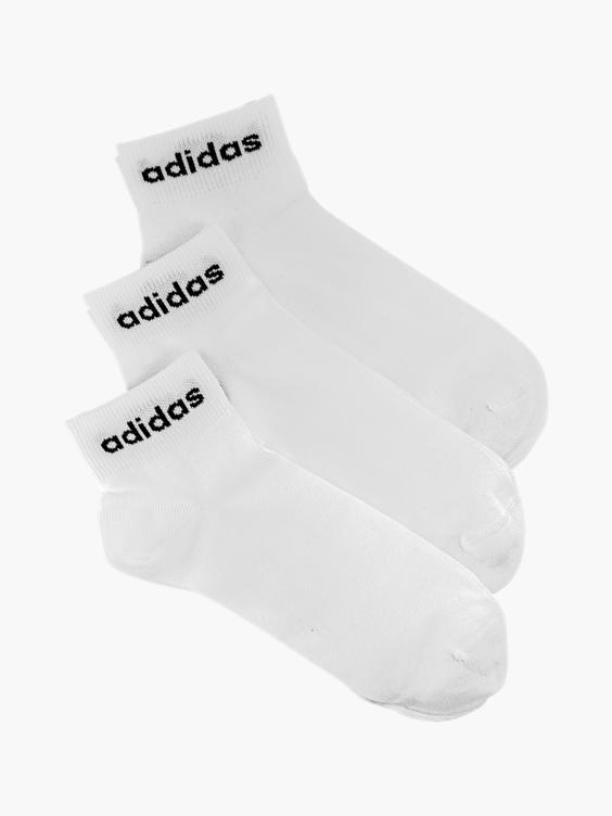 Witte sneakersok