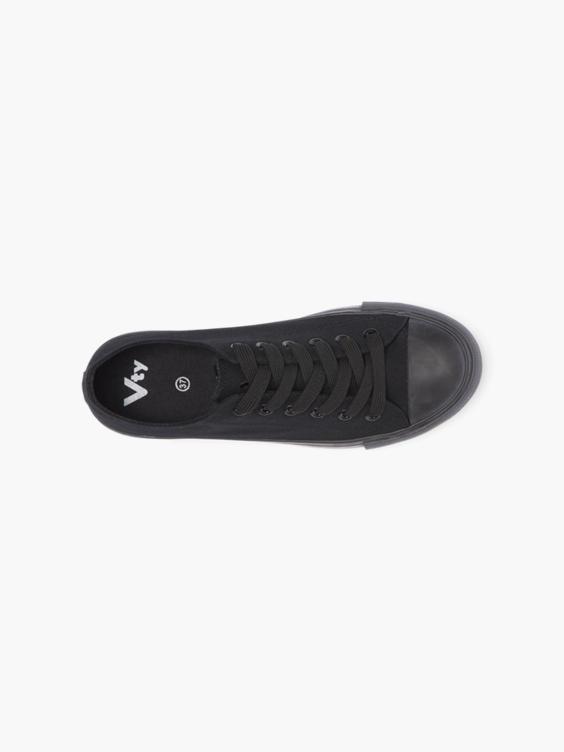 Zwarte sneaker canvas