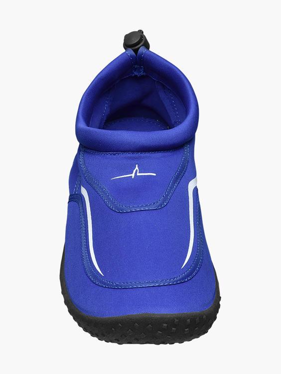 Blauwe waterschoen