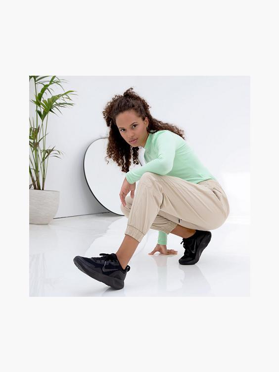 Zwarte nike wear allday chunky sneaker