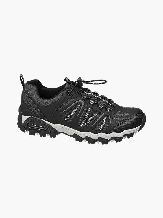 Zwarte wandelschoen elastiek