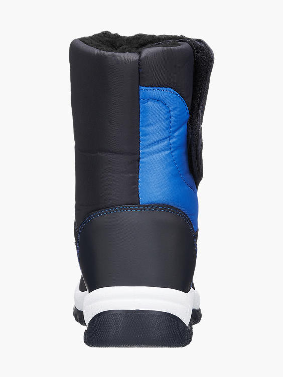 Blauwe snowboot klittenband