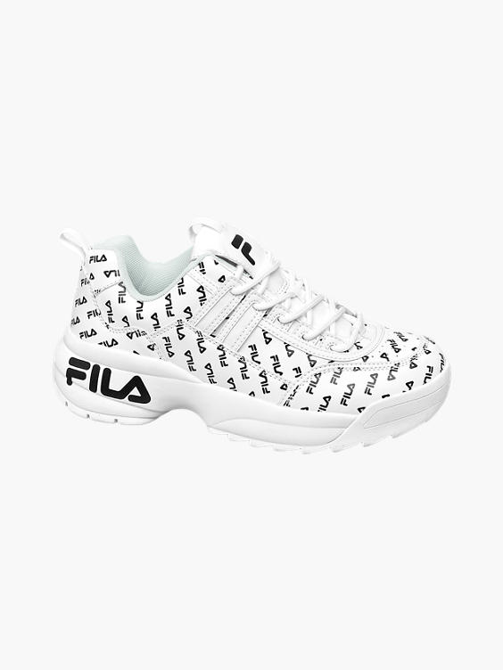 Witte sneaker chunky