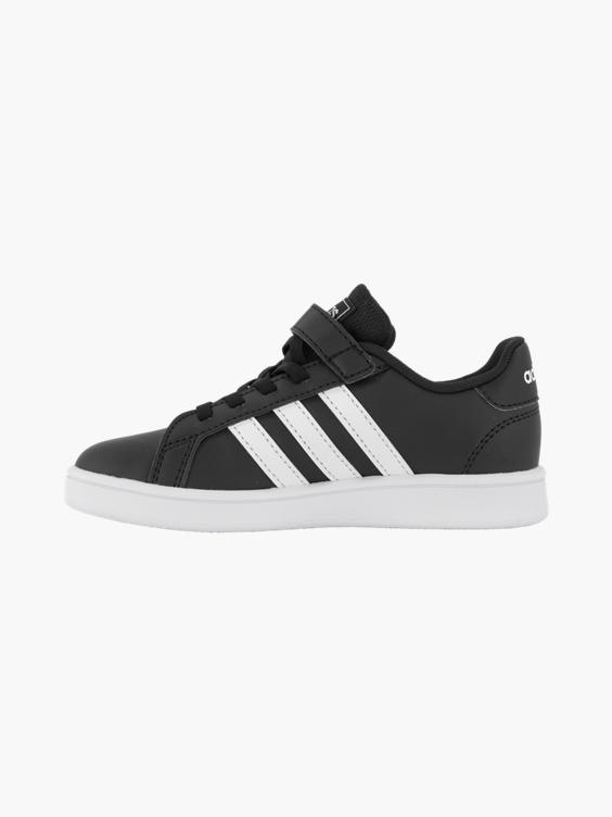 Zwarte adidas Grand Court sneaker