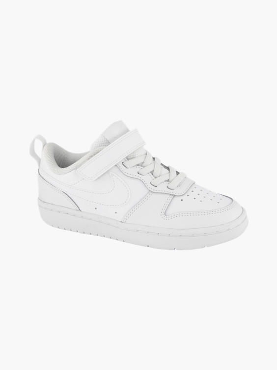 Witte adidas Court Borough Low 2 sneaker
