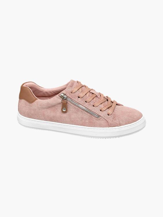 Roze sneaker sierrits