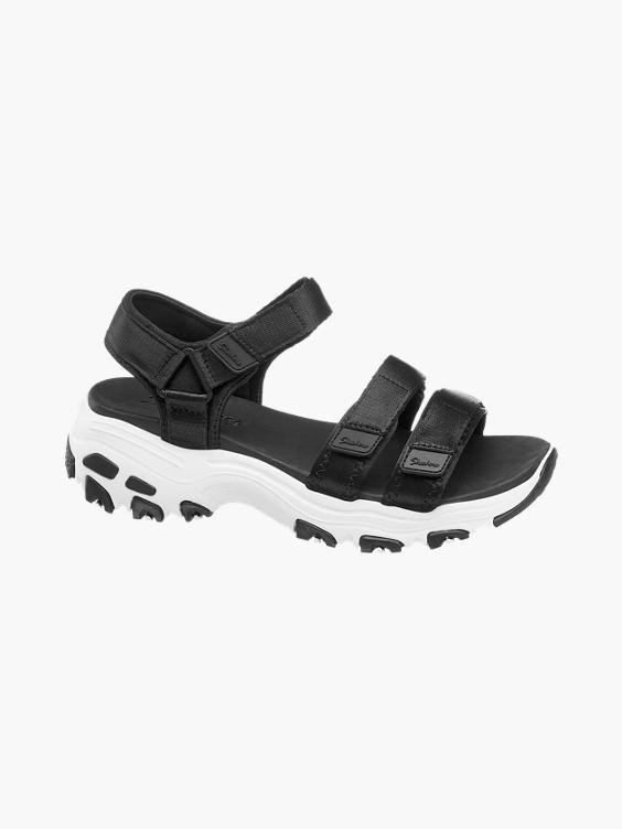 Exactamente Ajustable aborto  Skechers) Sandale in schwarz | DEICHMANN