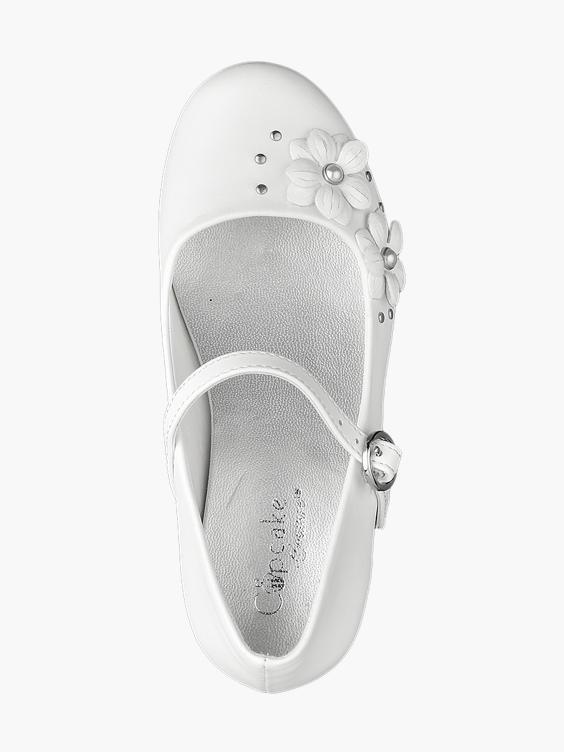 Witte ballerina bloemetjes