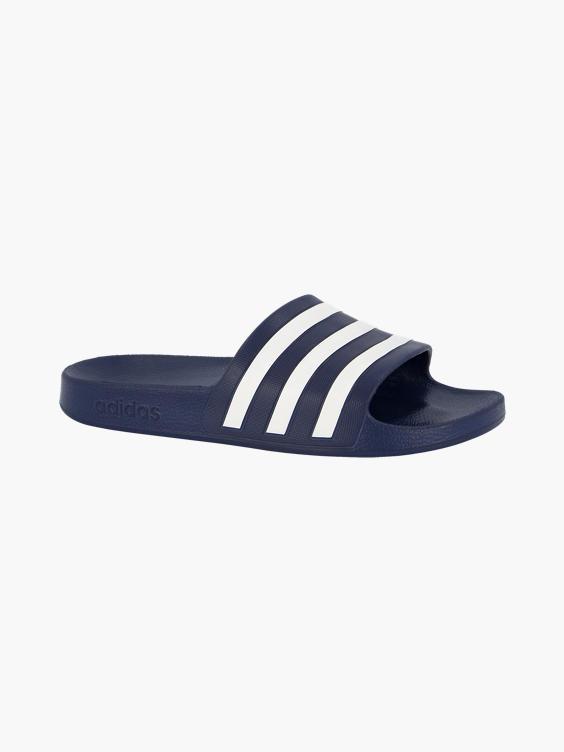 Blauwe slipper