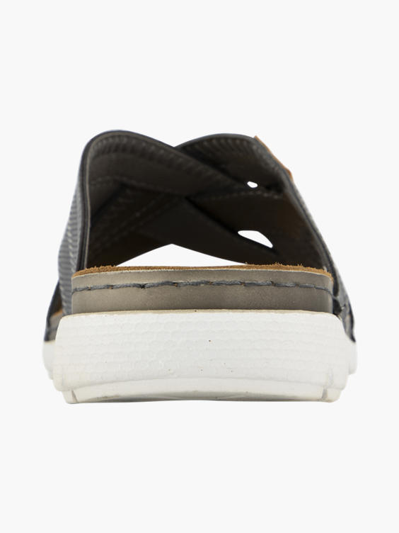 Zwarte slipper