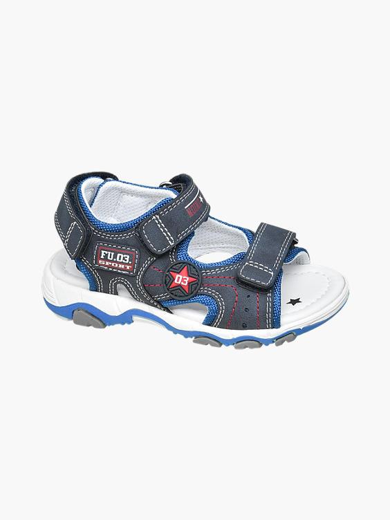 Donkerblauwe sandaal