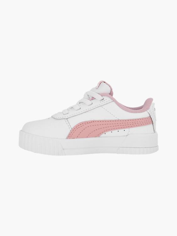 Witte leren puma Carina L AC sneaker