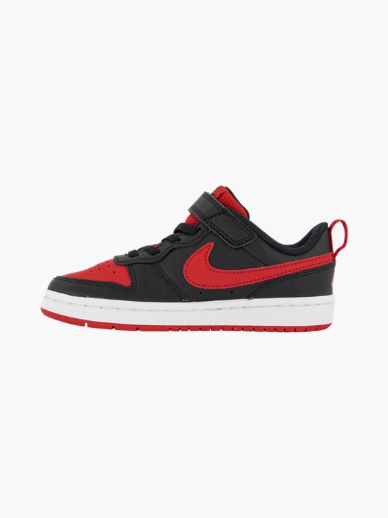 Zwarte adidas Court Borough Low 2 klittenband