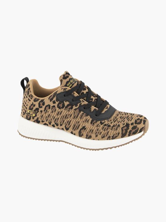 Bruine sneaker panterprint