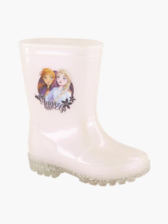 Witte Frozen regenlaars