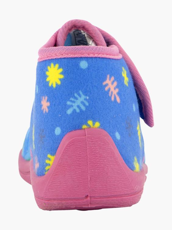 Baby Shark pantoffel klittenband