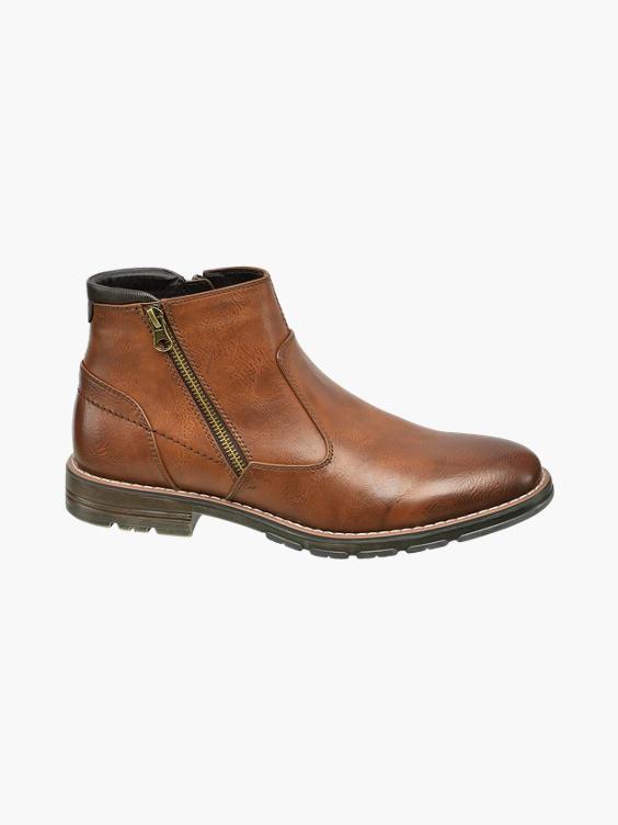 Bruine halfhoge boot