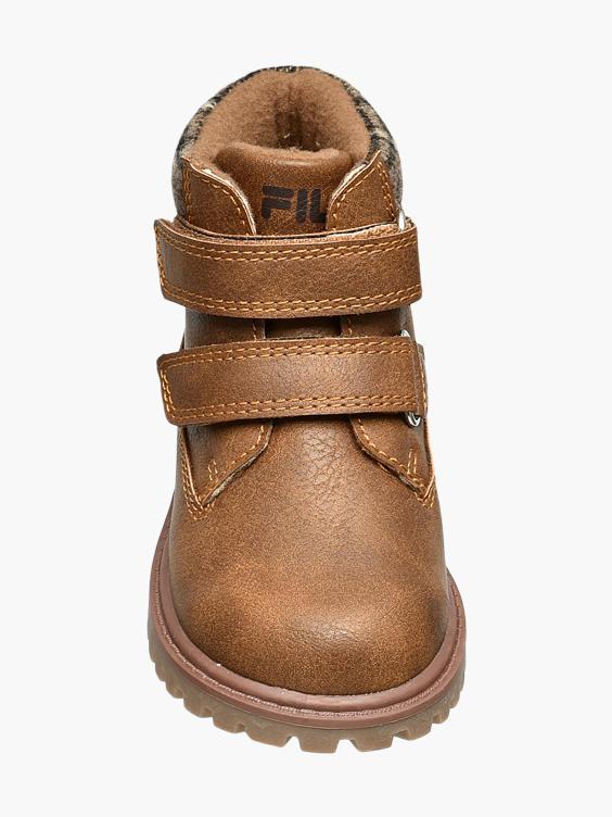 Bruine bootie klittenband