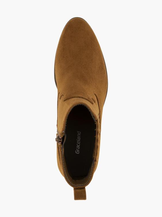Cognac western boot
