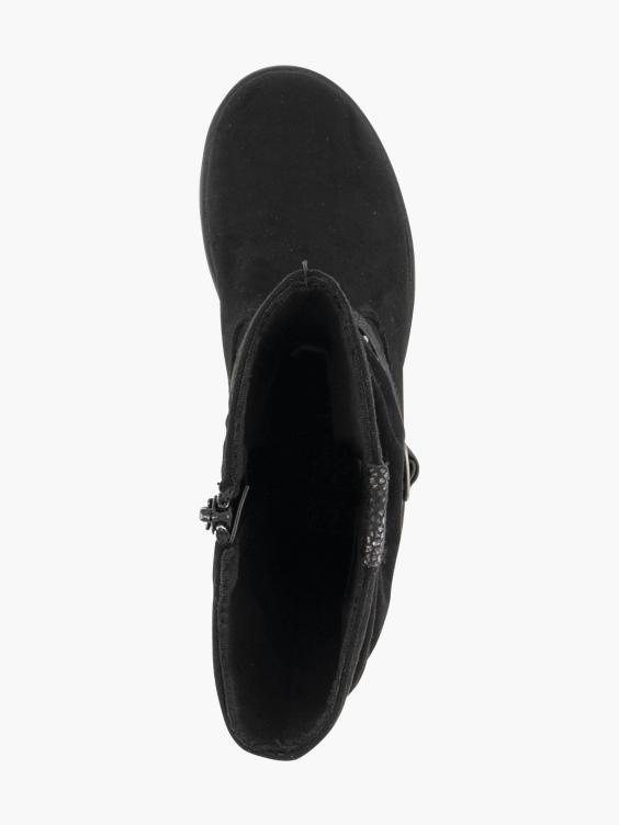 Zwarte laars sierbandjes