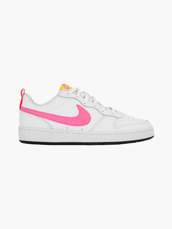 Witte nike Court Borough Low sneaker