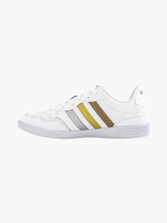 Witte adidas VL Hoops 2.0 sneaker