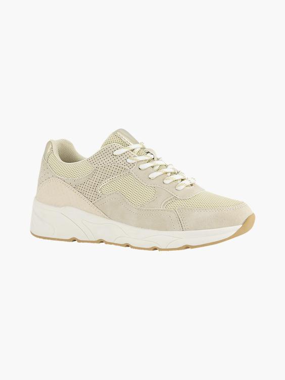 Beige sneaker mesh