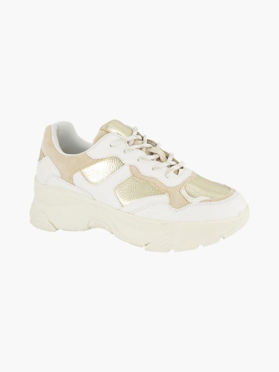 Witte chunky sneaker