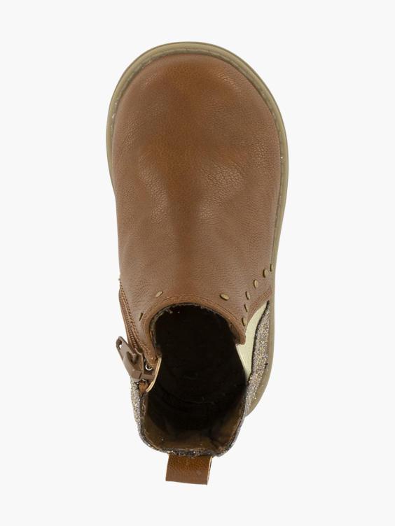 Bruine laars glitter