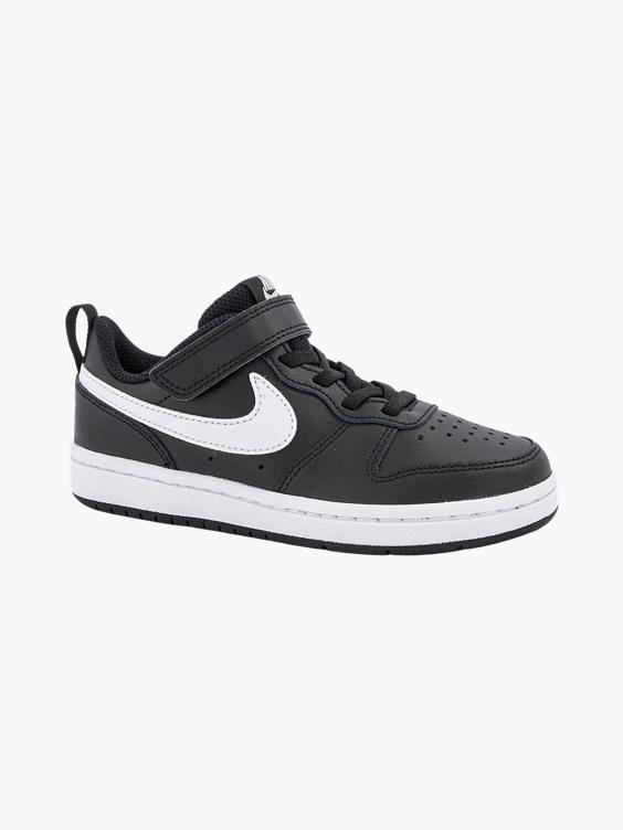 Zwarte nike Court Borough Low sneaker