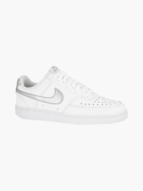 Witte adidas Court Vision sneaker