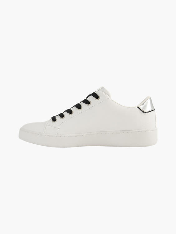 Witte sneaker Mickey Mouse