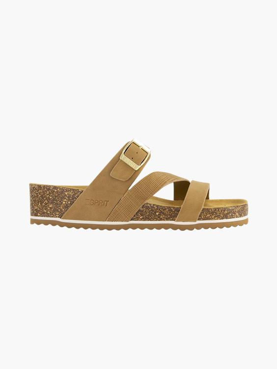 Bruine slipper