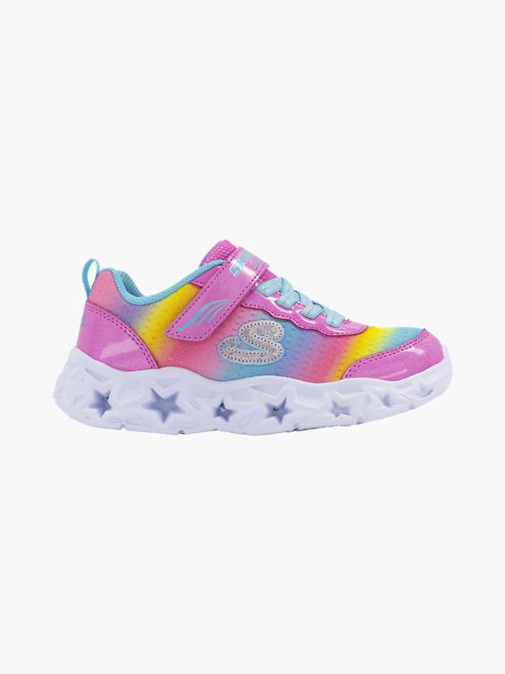 Roze sneaker met lichtjes