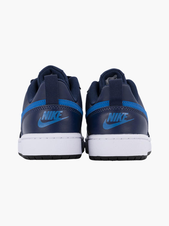 Marine blauwe platform sneaker