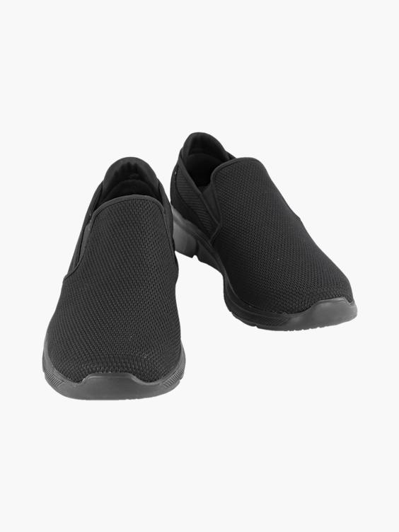 Zwarte instap sneaker memory foam