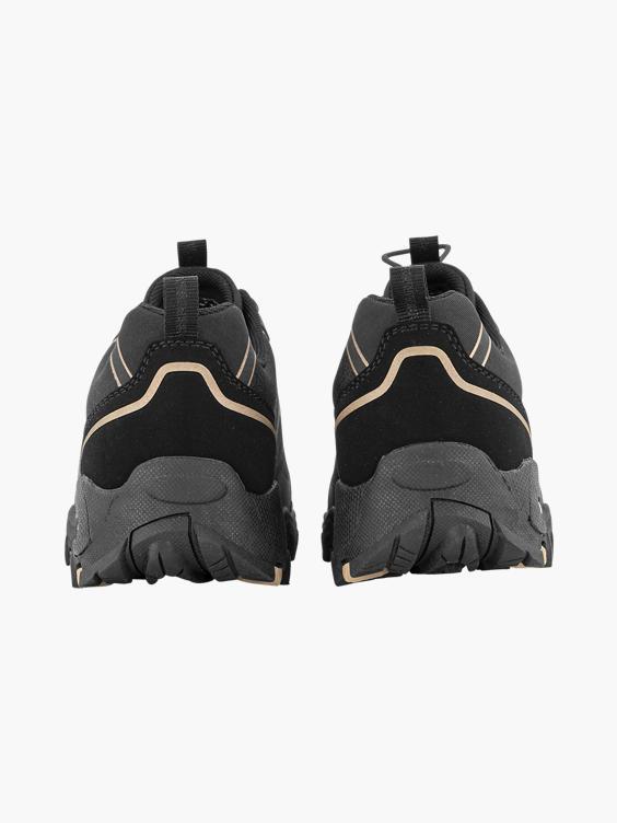 Zwarte wandelschoen elastisch