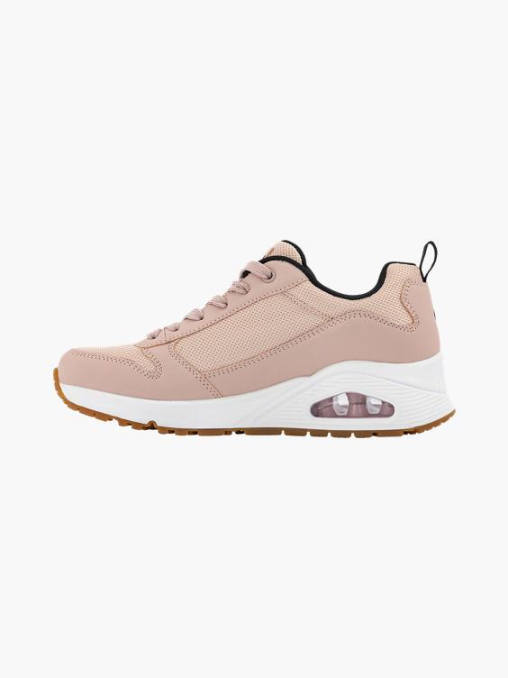 Roze sneaker Air zool