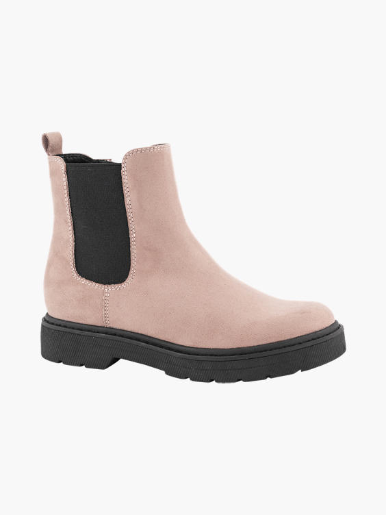 Roze chelsea boot
