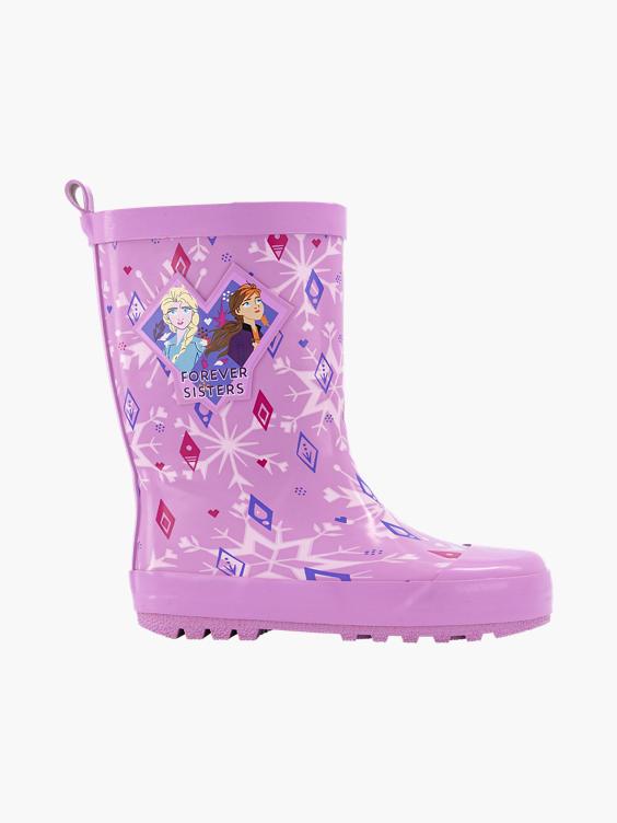 Roze Frozen regenlaars