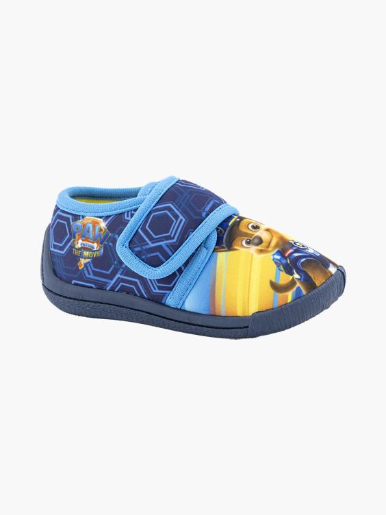 Marine blauwe paw patrol pantoffel