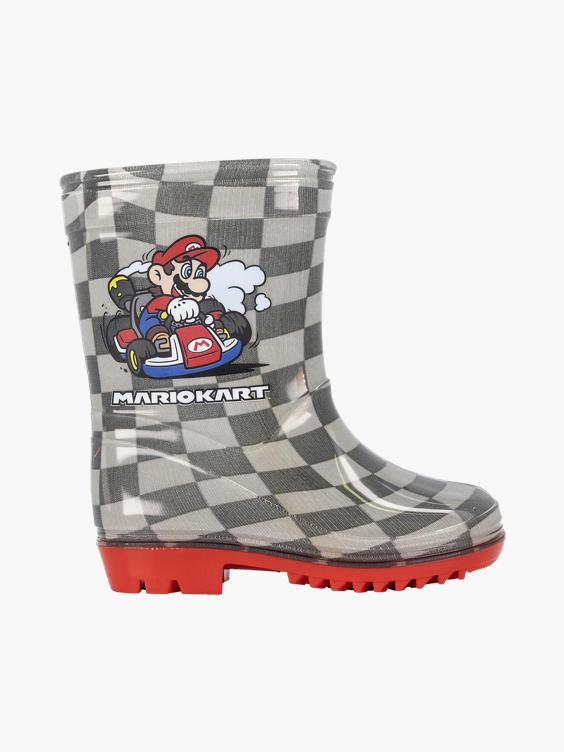 Grijze Super Mario regenlaars