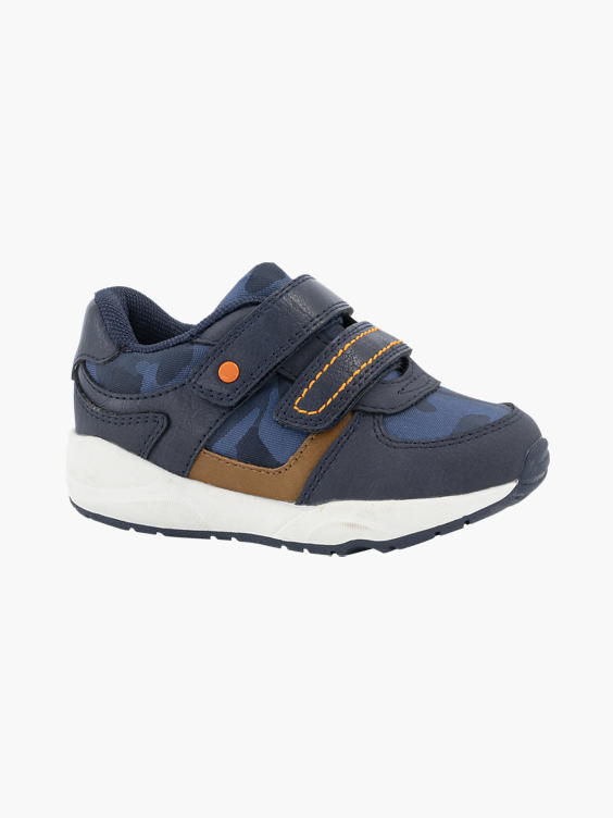 Marine blauwe sneaker
