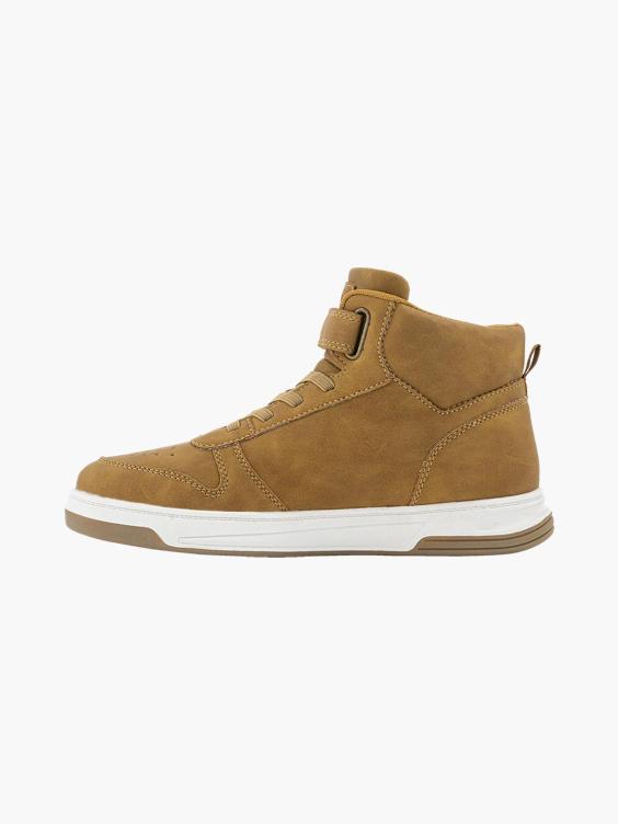 Camel hoge sneaker