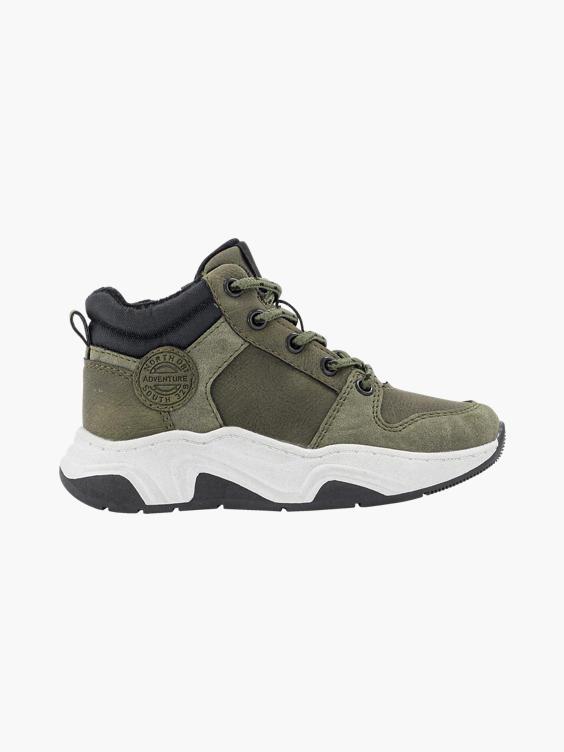 Groene hoge chunky sneaker