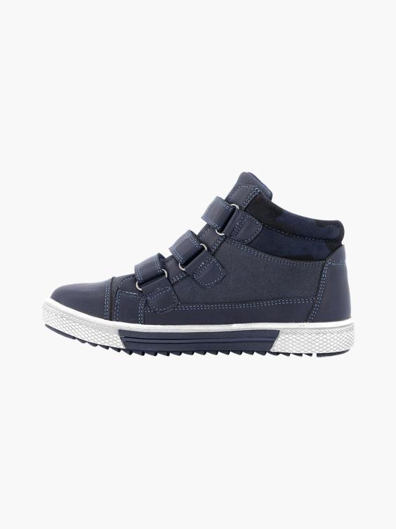 Blauwe sneaker klittenband