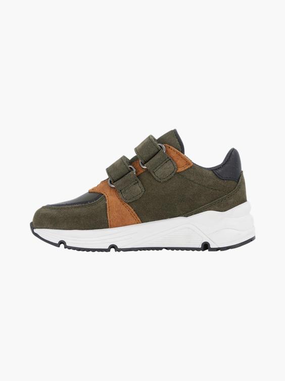 Groene suède sneaker